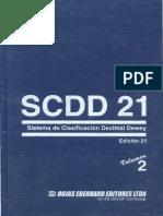 SCDD 21 Vol. 2 libro