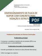 Dimensionamento de Placa de Isopor Com Concreto Para Vedação e Estrutura (2) - Cópia