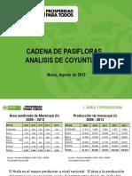 002 - Cifras Sectoriales - 2013 Agosto