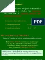 Oxidacion Reduccion y Electroquimica