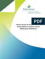 Norma Técnica de Fornecimento de Energia Elétrica em Baixa Tensão (Edificações Individuais) - NDEE02 Rev 00.pdf