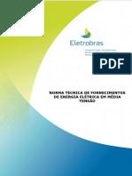 Norma Técnica de Fornecimentos de Energia Elétrica em Média Tensão - NDEE01 Rev 00.pdf