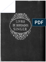 Singer Livro brasileiro de bordados