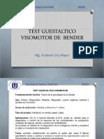 Test Guestaltico Visomotor de Bender