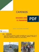 El Transporte  caminos