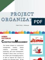 Project Organization Velasquez