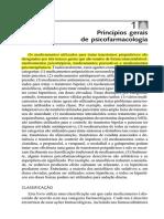 Princípios Gerais de Psicofarmacologia