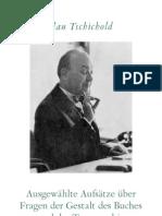 Jan Tschichold - Gestalt Des Buches