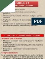 Lenguaje y Comunicación III