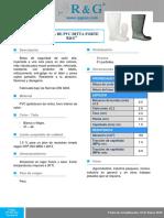 Ficha Tecnica de Bota Pvc