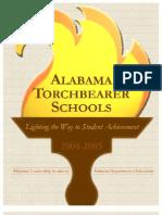 Alabama Torchbearer Schools--Cited by Tony Thacker