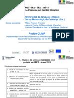 Accin Clima Bordeaux 2013
