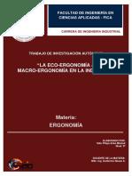 Micro- Eco Ergonomia