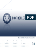 Controller Editor Template Documentation English