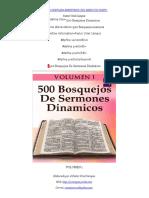500 Bosquejos Dinamicos - Volumen 1