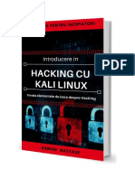 Introducere in Kali Linux