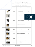 Catalogue of Oil Pressure Sensor From Okay Motor