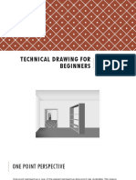 Technical Drawing for Beginners 2