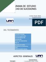 Diapositivas Clase UAN - EL TESTAMENTO