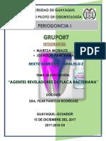 Agentes Reveladores de Placa Bacteriana
