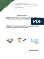 TdR Proceso Formación GRRD ASECSA Mayo2018