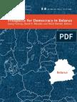 Prospects for Democracy in Belarus