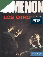 Los Otros - Georges Simenon