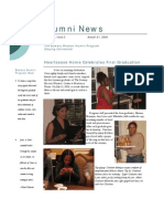 Aug 2006 Alumni Newsletter, Bowery Mission Program