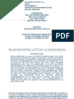 Relación Entre La Ética y La Democracia Point Actualizado