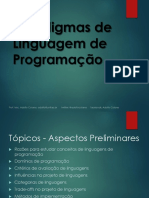 1 - Paradigmas de Linguagem de programação - Aspectos Preliminares.pdf