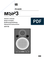 Garso monitoriai msp3_manual.pdf