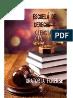 La Oratoria y El Derecho - Oratoria Forense Viii