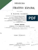 Derecho Administrativo Español Manuel Colmeiro.pdf