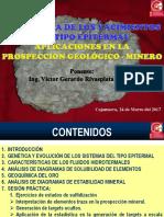 3 Ppt Geoquímica de Los Sistemas Epitermales - Arequipa Marzo 2017