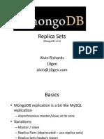 MongoDB replica sets