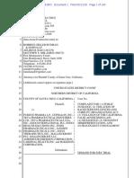 File Stamped Santa Cruz Complaint