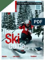 Skiing in Quebec • Westjet Up! Magazine (2014)