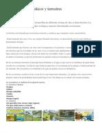 1Ecosistemas Acuáticos y Terrestres