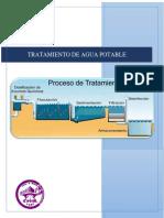 Diseño de Proceso de Floculacion, Sedimentación, Filtracióny Desinfección