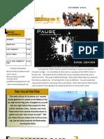 Newsletter Oct 10