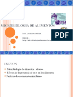 GENERALIDADES MICROBIOLOGIA ALIMENTOS