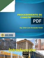 Procedimiento de Construccion 1 - Clase 1-2