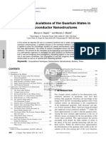 2010 - Numerical Calculations of the Quantum States in Semiconductor Nanostructures