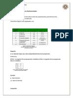 Nomenclaturas de Las Proposiciones