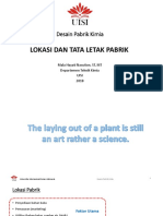 11. Lokasi Dan Tata Letak Pabrik