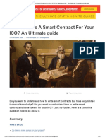 How to Write a Smart-Contract for Your ICO_ an Ultimate Guide - The Ultimate Crypto How-To Guides