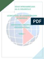 Desarrollo Organizacional 1 UNID