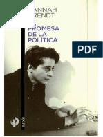 Arendt la promesa de la política.pdf
