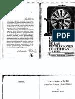 Kuhn - La Estructura de Las Revoluciones Cientificas