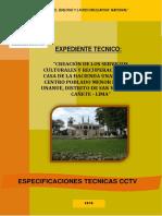 Especificaciones Tecnicas a&d